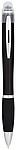 Nash svítící kuličkové pero barevné s černou rukojetí, černá