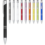Hliníkové kuličkové pero, stříbrná