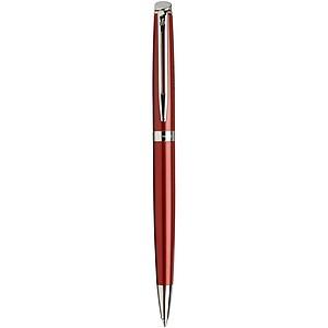 Elegantní kuličkové pero, modrá náplň, tmavě červená