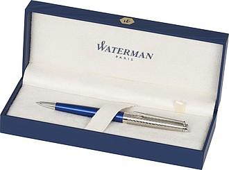 Nadčasové kuličkové pero, prvotřídní luxus, modrá náplň, královská modrá