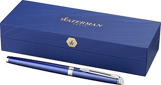 Elegantní plnicí pero, modrá náplň, královská modrá