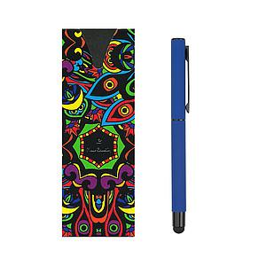 PIERRE CARDIN CELEBRATION Kovový roller se stylusem, modrá n., tmavě modrý