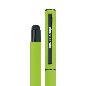 PIERRE CARDIN CELEBRATION Kovový roller se stylusem, zelený