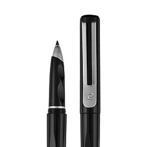 PIERRE CARDIN GIRONDE Plastový roller s kovovým klipem, modrá n., černá