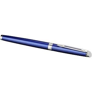 Elegantní roller, černá náplň, královská modrá