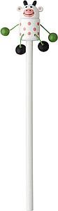 TIRA Tužka se zvířátkem, dodáváno po 50ks, nadruženo z 5 variant