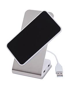 Stojánek na mobil s USB porty