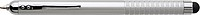 Stylus pro kapacitní displeje s KP, stříbrný