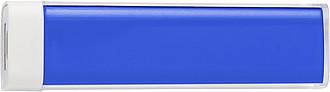 TRAVELO Plastová powerbanka, modrá