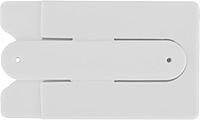 KOVALA Silikonové pouzdro na karty s 3M lepící páskou, bílá