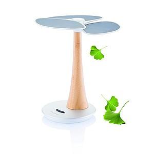 Solární nabíječka ve tvaru ginkgo
