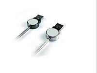 MATOL Napájecí kabel s kovovými koncovkami, černá