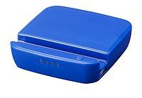 Powerbanka 2200 mAh se stojánkem na mobil, modrá