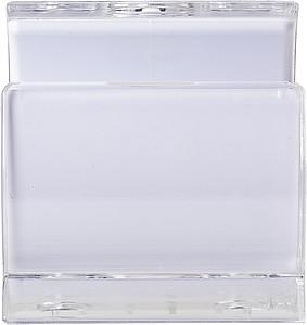 Plastový stojánek na telefon, bílý