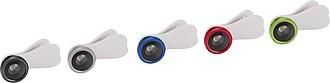 Čočka fotoaparátu pro efekt rybího oka s klipem, limetková