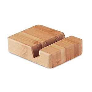 Bambusový stojánek na mobil