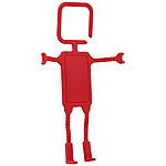 Závěsný stojan na telefon, červená