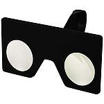 Mini virtuální brýle s klipem, černá