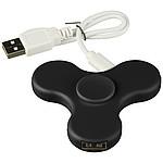 Spin-it Widget USB Hub-BK, černá