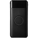 Hliníkový 4 portový rozbočovač a telefonní stojan, černá