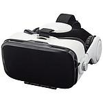 Souprava pro virtuální realitu se sluchátky, bílá