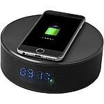 Přijímač pro bezdrátové nabíjení telefonů iOS, černá