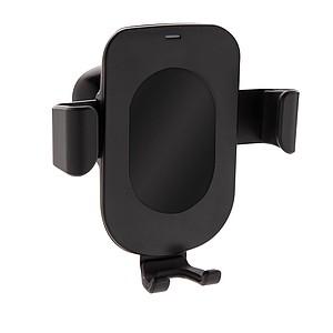 5W bezdrátově nabíjecí držák telefonu do auta Gravity, černá