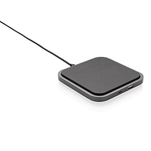 Swiss Peak luxusní bezdrátová nabíječka 5W, černá