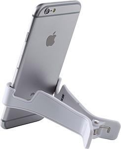 Stojan na telefon nebo tablet, bílá