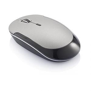 Bezdrátová počítačová myš, šedá