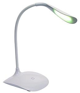 Stolní lampička, nabíjení přes USB