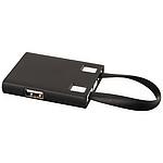 USB rozbočovač & kabely 3 v 1, černá