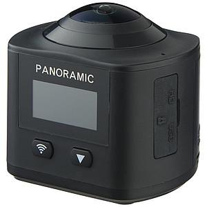 360° Wi-Fi akční kamera, černá
