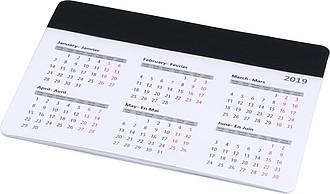 Podložka na myš s kalendářem, černá