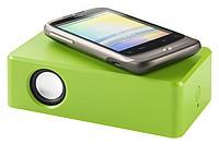 Vibrační repráček pro všechny mobily, světle zelená