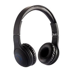 Komfortní skládací Bluetooth sluchátka, černá