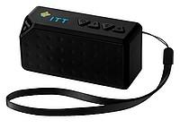 Plastový Bluetooth reproduktor s poutkem, černá