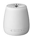 Oválný Bluetooth reproduktor s mikrofonem, bílá