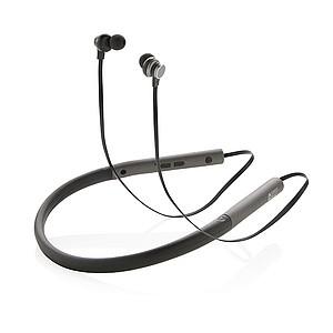 Basová sluchátka do uší Swiss Peak, stříbro
