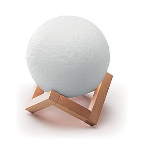 LUNES Bezdrátový reproduktor ve tvaru Měsíce i se světlem