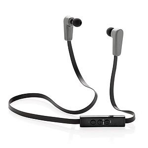Bezdrátová sluchátka, černá