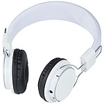 Sluchátka Tex Bluetooth®, bílá
