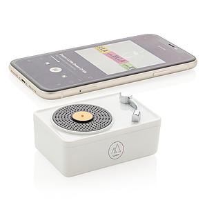Mini Vintage bezdrátový reproduktor 3W, bílá