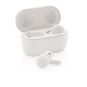 TWS sluchátka Liberty 2.0 v nabíjecí krabičce, bílá