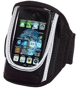 Transparentní obal na mobil, s páskem na paži