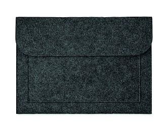 Plstěný obal na notebook, tmavě šedý