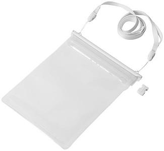 Voděodolný obal na iPad Mini, bílé uzavírání