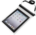Voděodolný obal na iPad, černé uzavírání