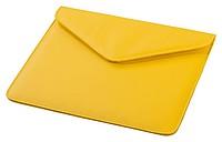 """Obal na tablet do velikosti 10"""" v designu obálky, žlutá"""