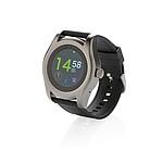 Swiss Peak chytré hodinky, černá